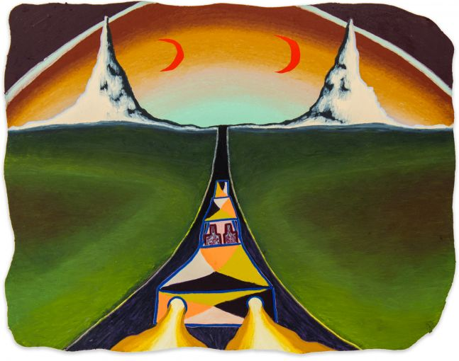 Eliot Greenwald, Night Car (the trickster between 2 farms)