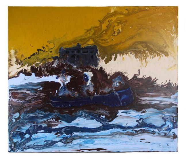 Genieve Figgis, Floating in a Boat, 2014