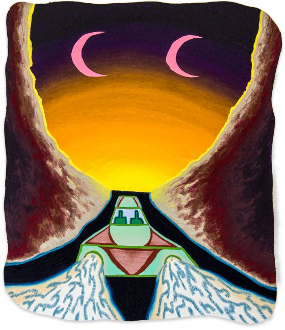 Eliot Greenwald, Night Car (a vacuum in space)