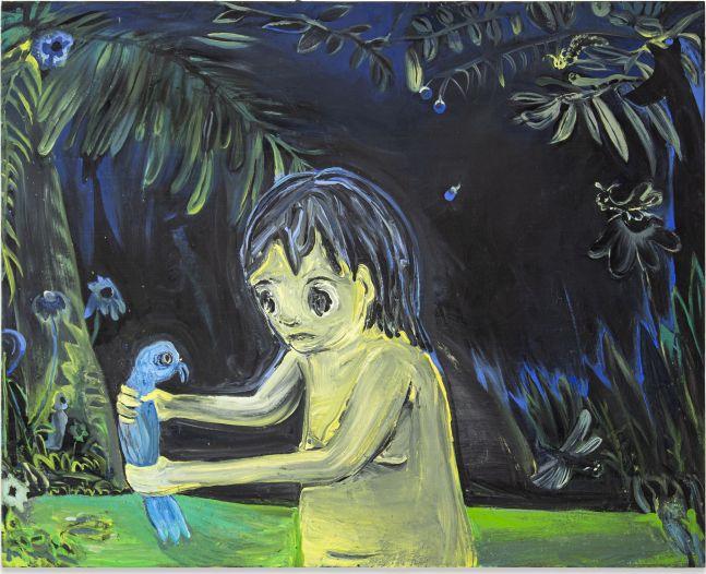 Tsailing Tseng, Blue Bird, 2019