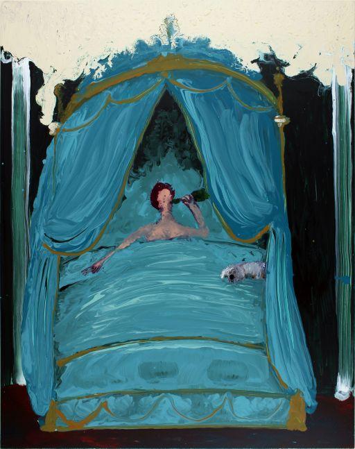 Genieve Figgis, Drinking in Bed, 2016