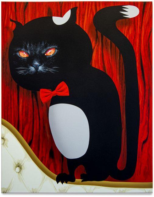 Oli Epp, Le chat noir, 2021