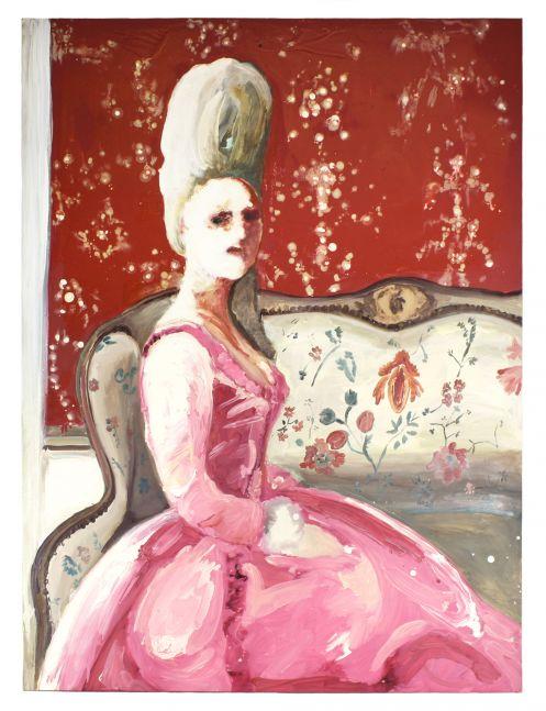 Genieve Figgis, Lady on a Sofa, 2014