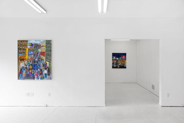 Michelangelo Lovelace: Brick City - installation view