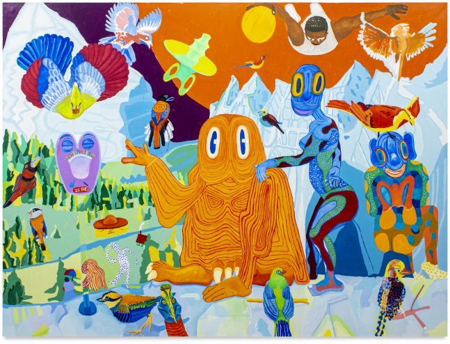 Peter Williams, As the Birds Fly, Another Planet, 2019