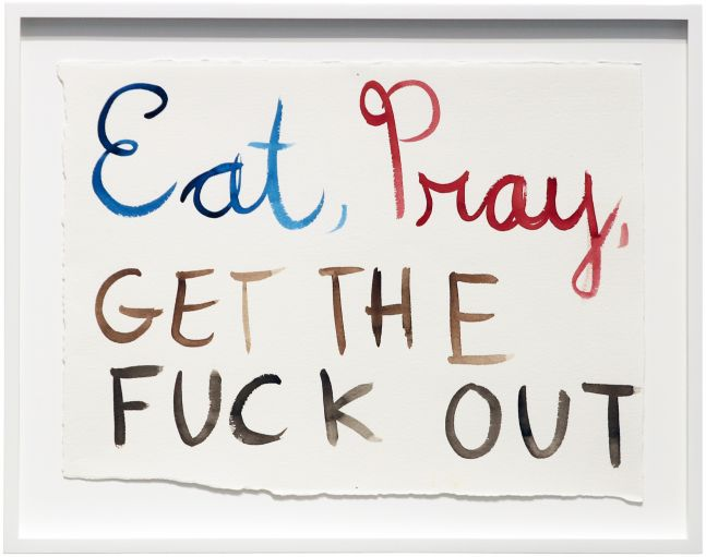 Brad Phillips, Eat, Pray, Get the Fuck Out, 2014
