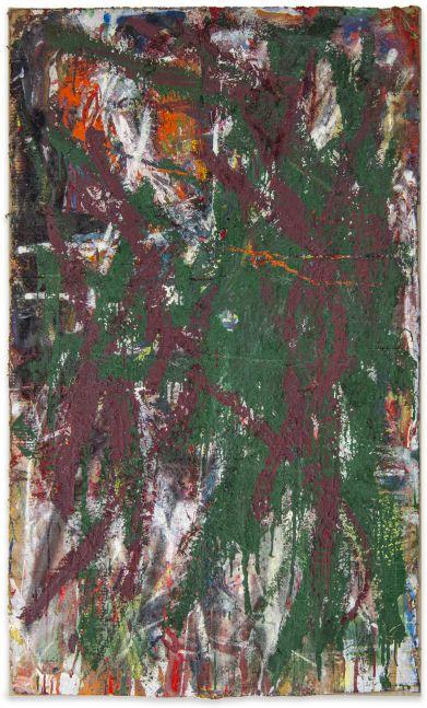 Spencer Lewis, Violent painting, 2016-17