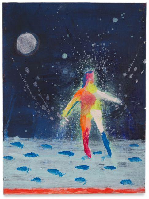 Katherine Bradford, Man on the Moon, 2014-16