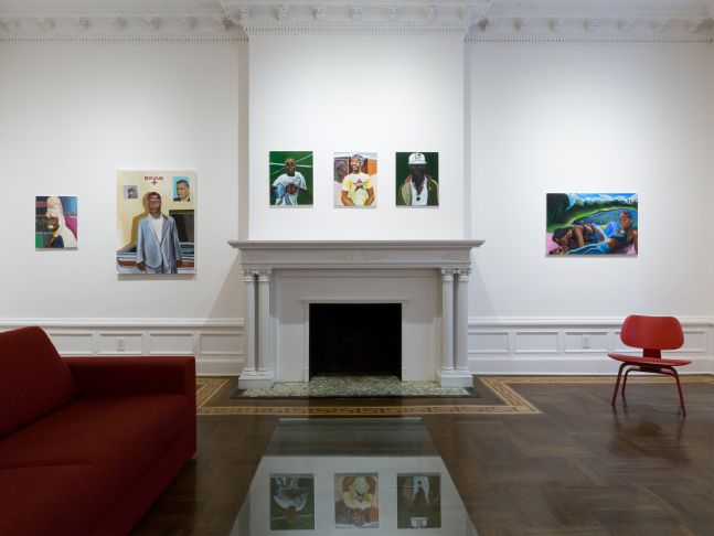 Marcus Brutus: The Uhmericans - installation view
