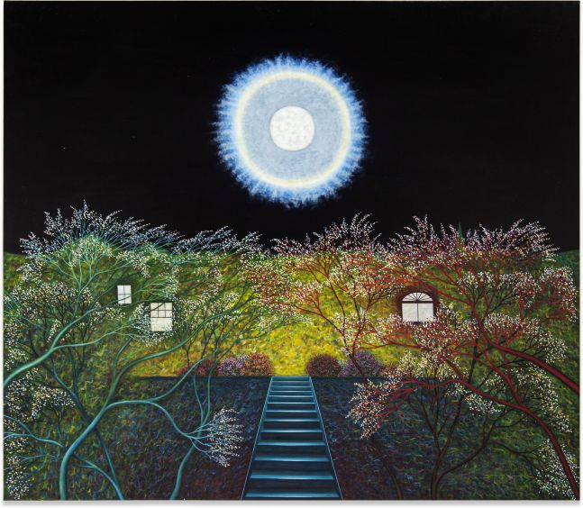 Scott Kahn, Spring Moon, Grant Street, 2019