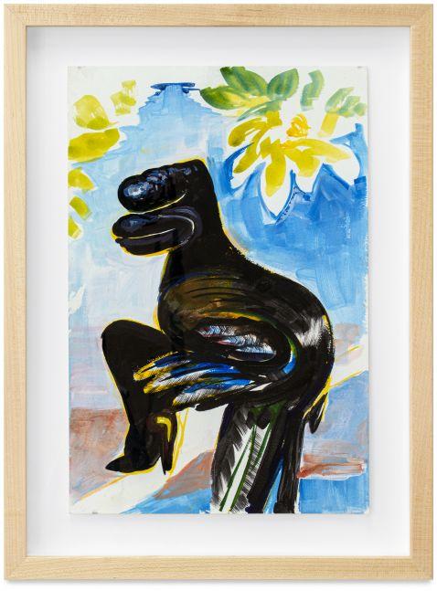 Leasho Johnson, Thila (Bird deity symbolizing the transition between human and Nature spirit), 2019