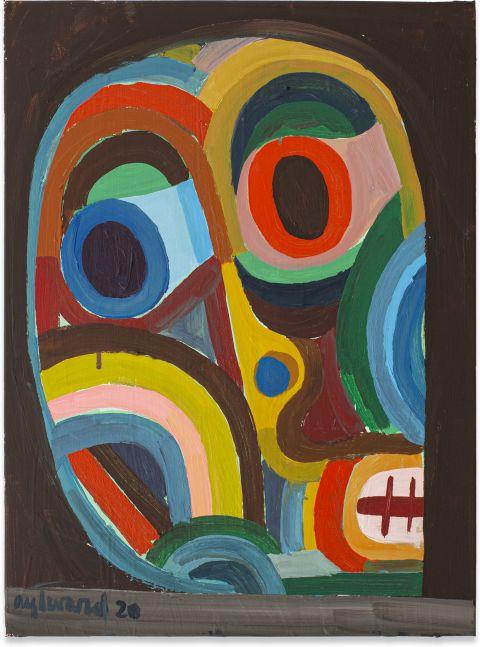 Derek Aylward, Untitled Face, 2020