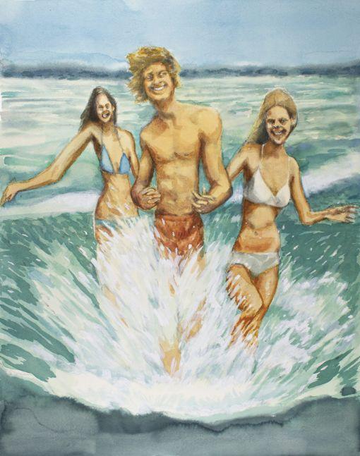 Rob Thom, Beach-lovers, earlier, 2019