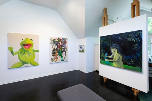 36 Paintings - installation view