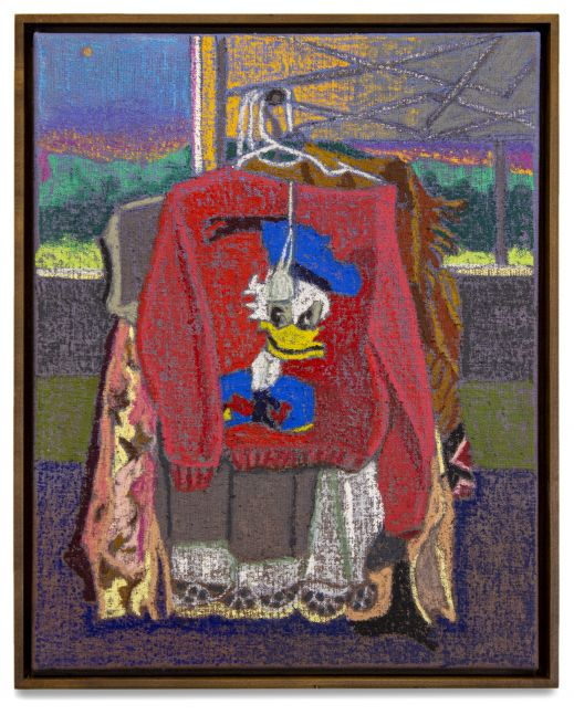 JJ Manford, The Donald Duck Sweater at the Outdoor Flea Market, 2020
