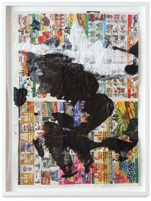 Anke Weyer, Untitled (black), 2015