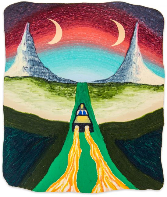 Eliot Greenwald, Night Car (superposition)