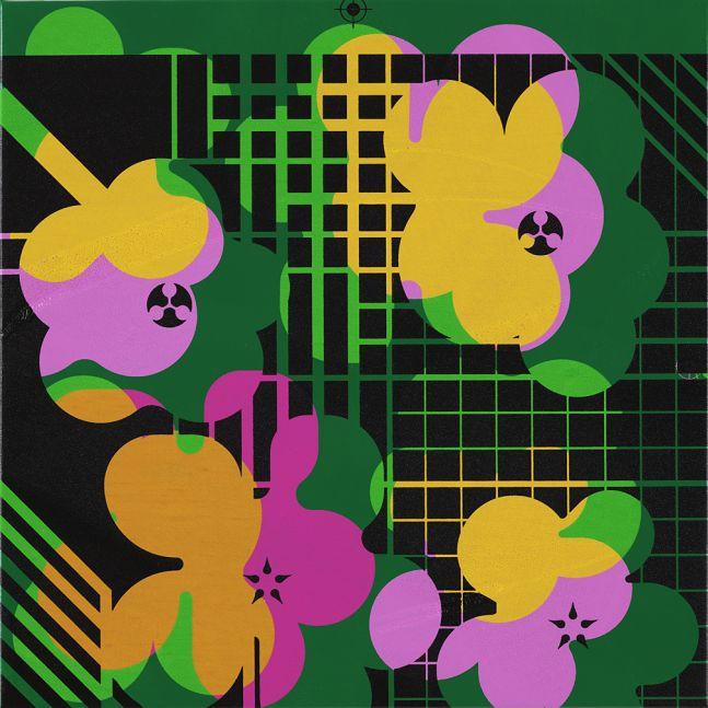 Ryan McGinness, Warhol Flower Icon (WFI.14.125), 2018