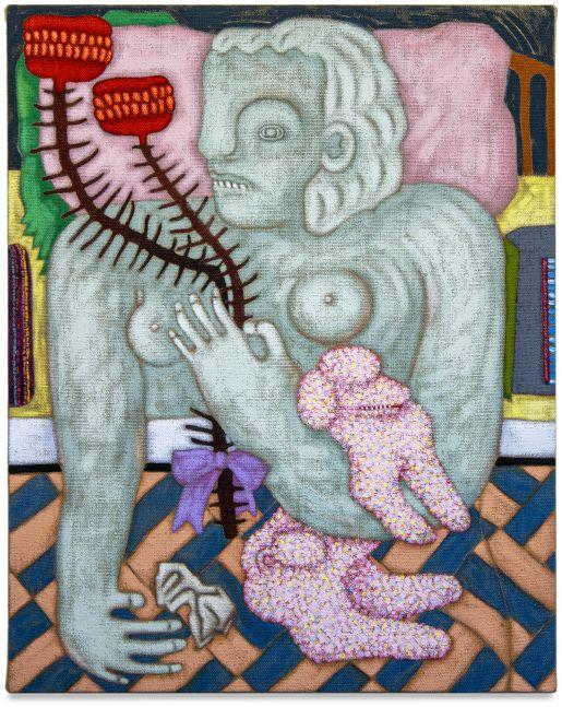Sophie Larrimore, Pink Pillow, 2021