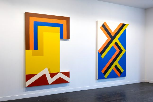 Matthew King: Recurring Paintings - installation view