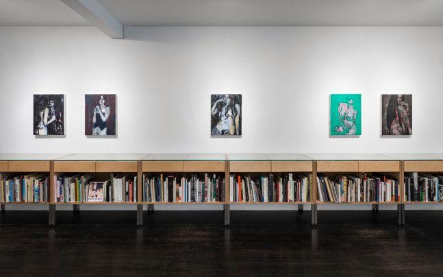 Enoc Perez: Nudes - installation view