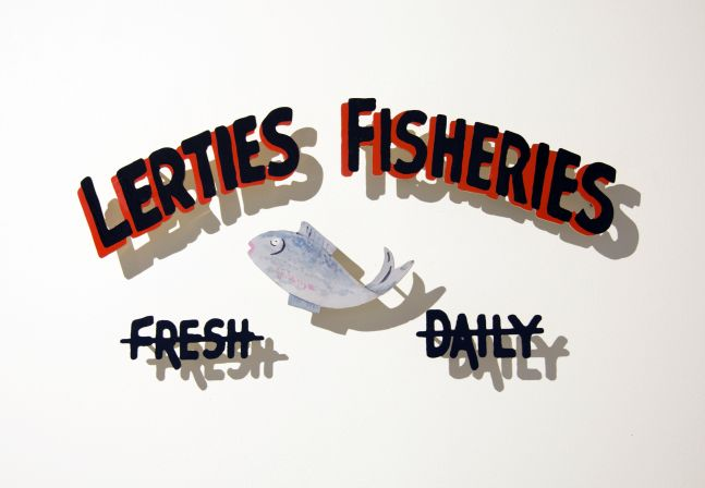 Signs of the Lost District: Lerties Fisheries