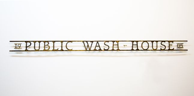 Signs of the Lost District: Public Wash-House