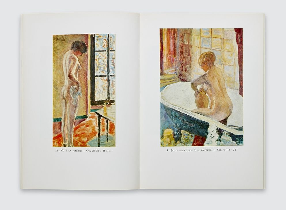 Bonnard catalogue