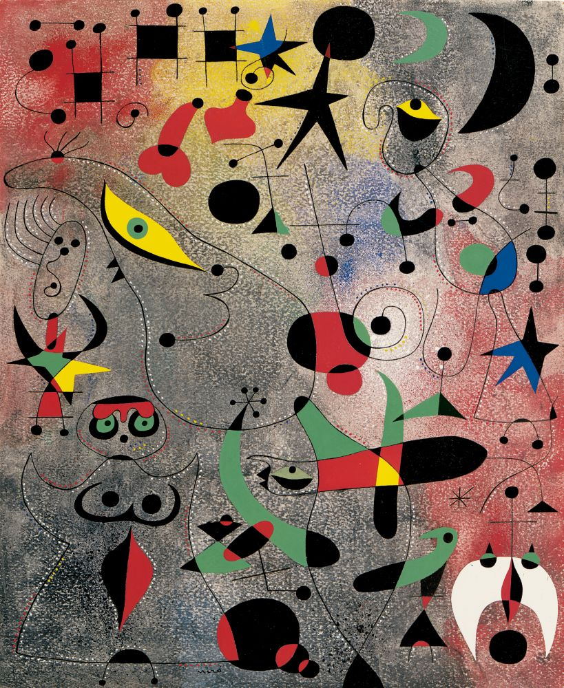 Joan Miró  Constellation: Awakening in the Early Morning, 1941