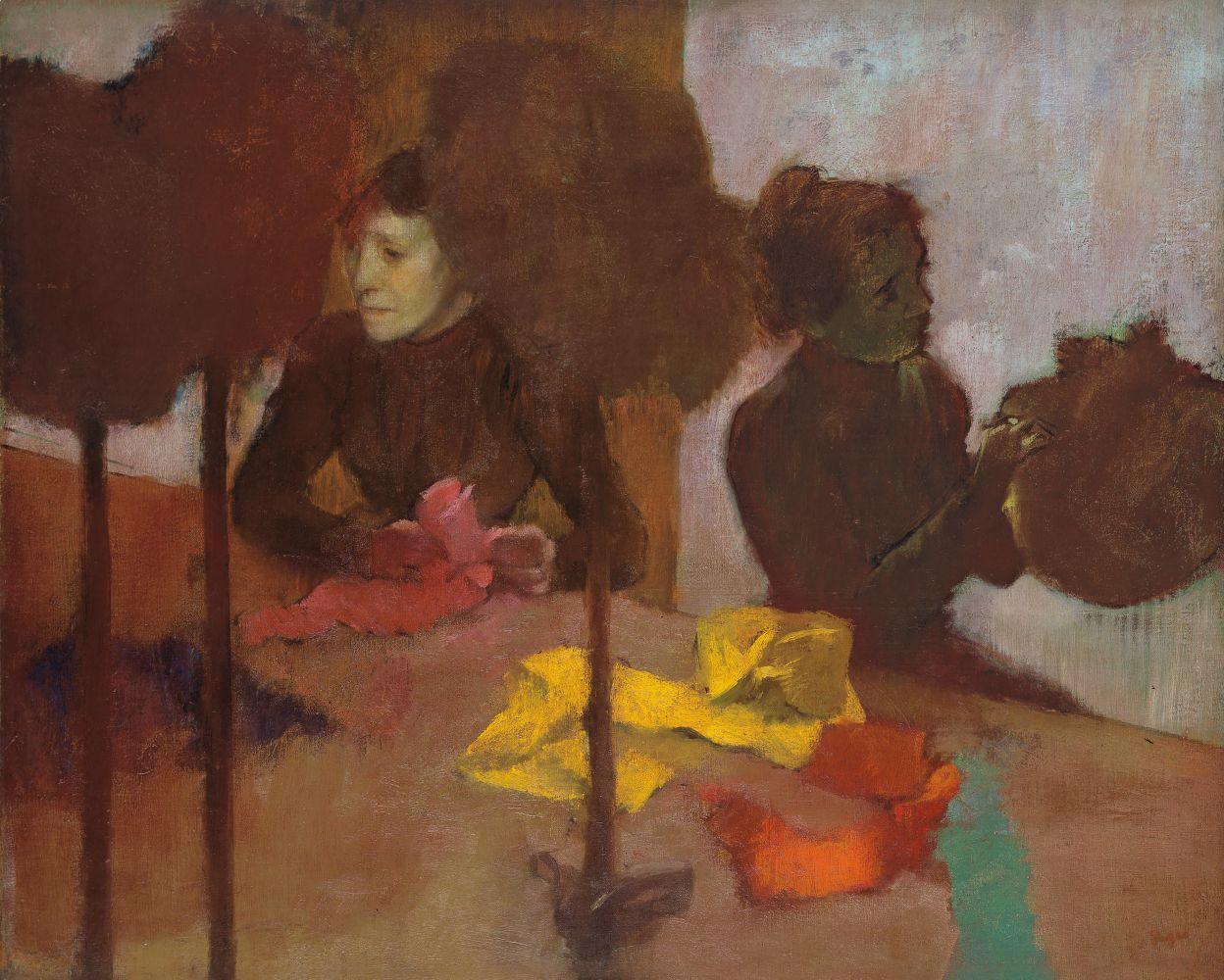 Edgar Degas Les Modistes
