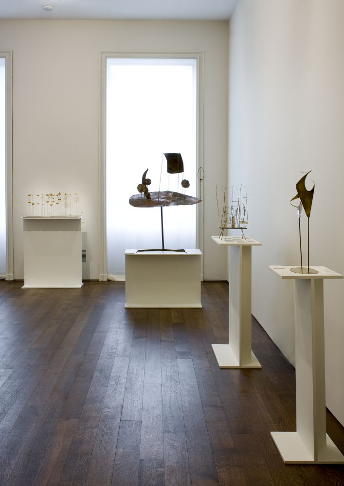Installation view of Fausto Melotti, April 16 - June 13, 2008.