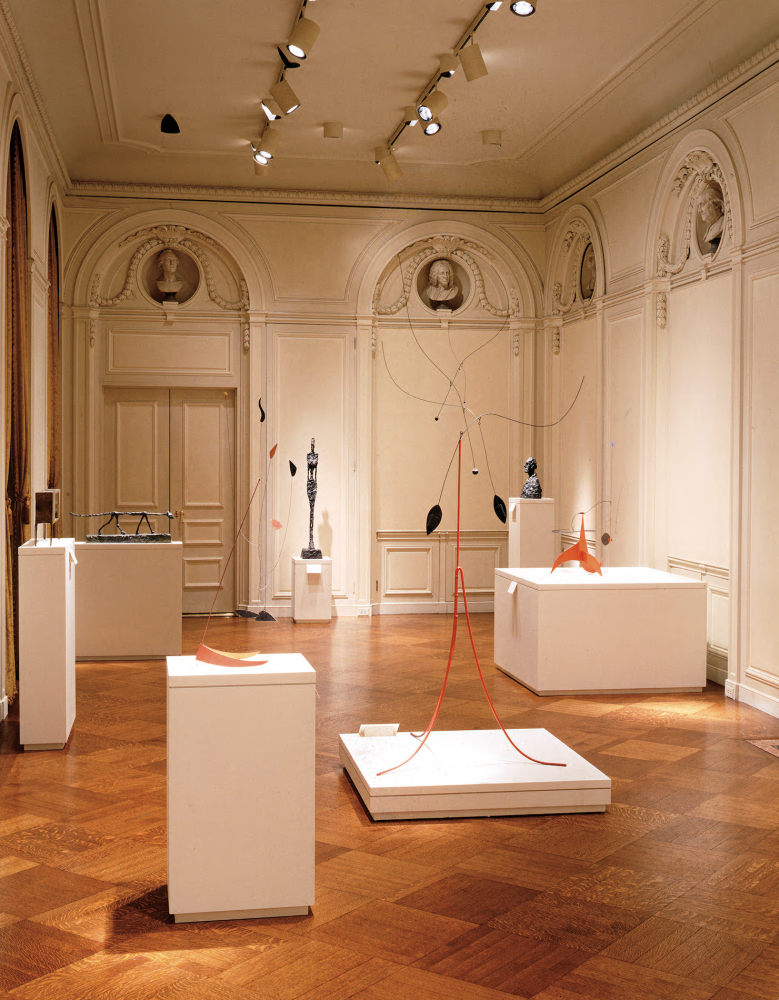 Installation view of 20th Century Sculpture, April 3 - May 21, 2003.