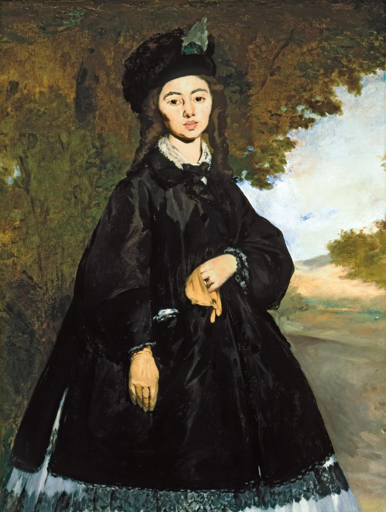 Manet, Portrait of Mme Brunet