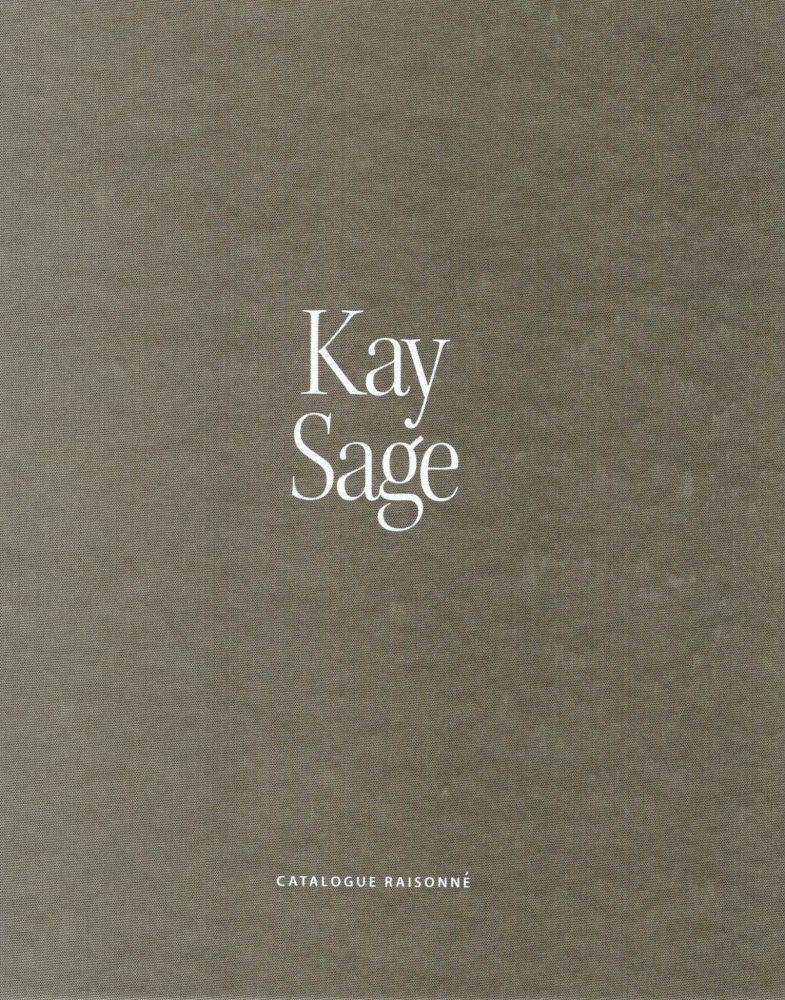 Cover of Kay Sage catalogue raisonné.
