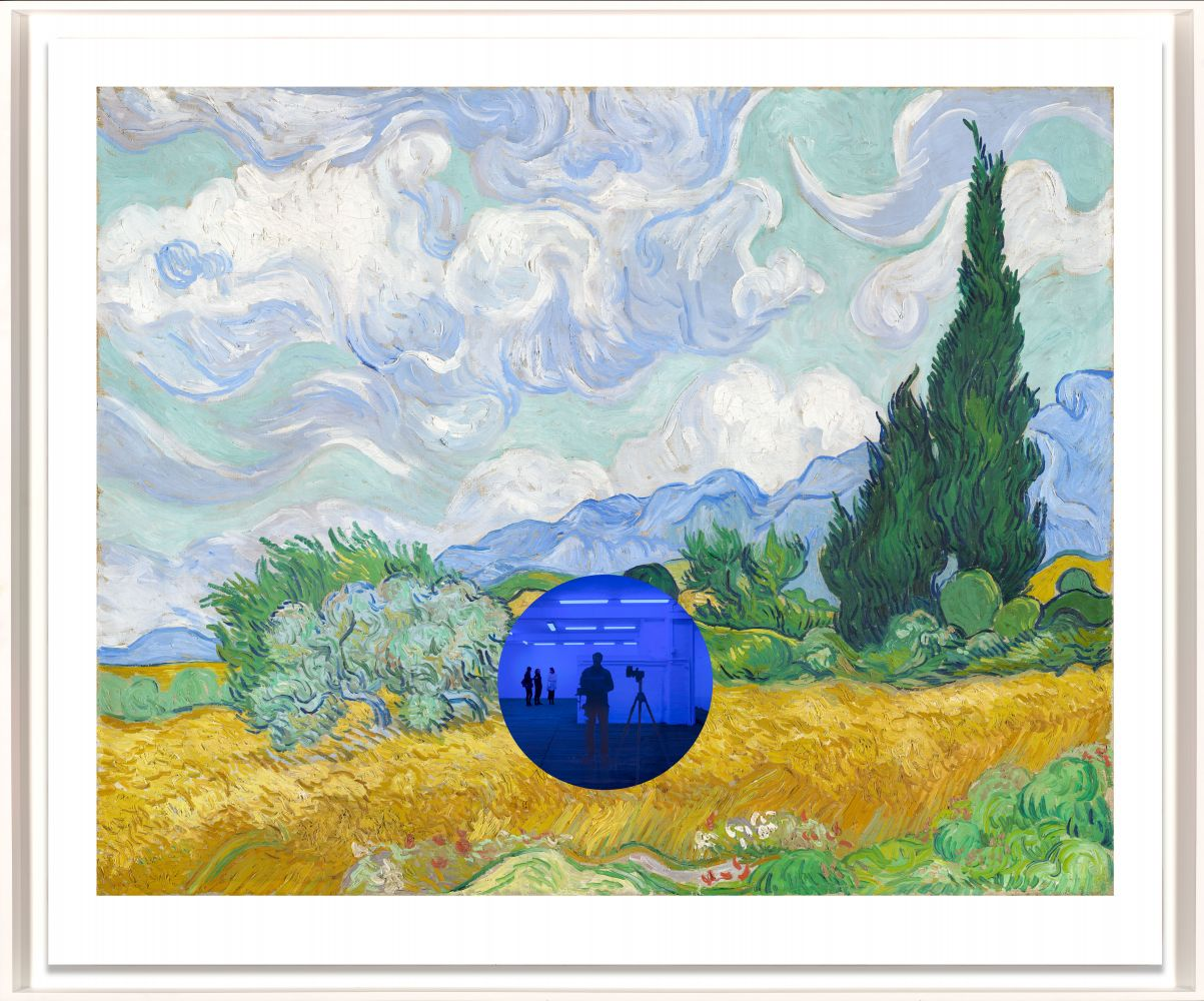 Jeff Koons  Gazing Ball (van Gogh Wheatfield with Cypresses), 2017