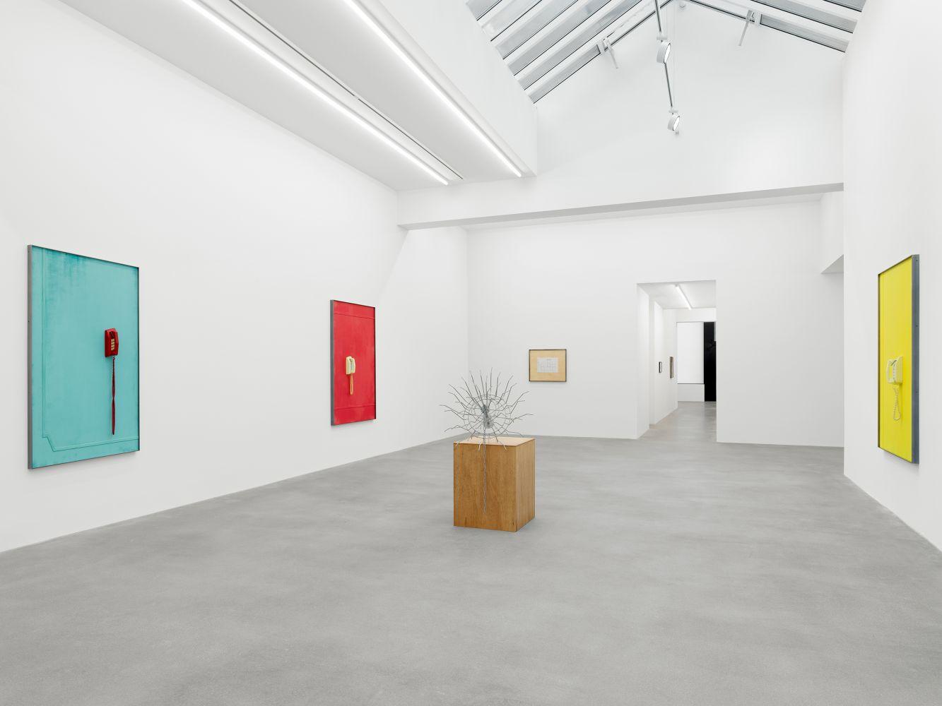 Exhibition View, Martin Boyce, No Longer Fathom, Galerie Eva Presenhuber, Zurich 2020 installl 3