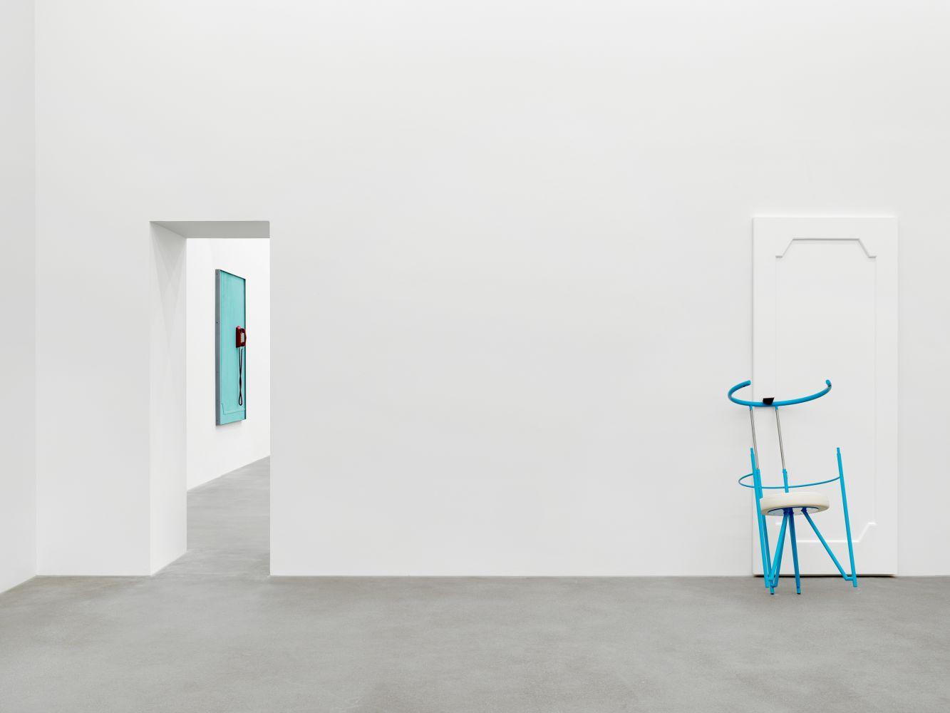 Exhibition View, Martin Boyce, No Longer Fathom, Galerie Eva Presenhuber, Zurich 2020 install 4