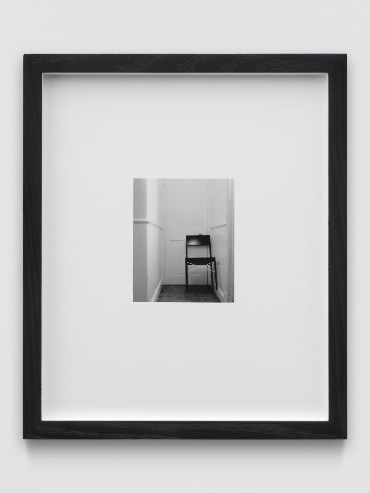 CHAIR (NOIR) 1999 B&W photograph, framed Ed. 2/10 + 2 AP 25.5 x 21.5 x 3.5 cm / 10 1/8 x 8 1/2 x 1 3/8 in
