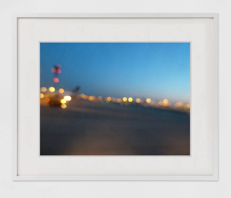 KAREN KILIMNIK  the sequined airport, Heathrow, England  2013 C-Print; framed  Image 68.6 x 91.4 cm / 27 x 36 in  Framed 78.7 x 101.6 cm / 31 x 40 in  KILIM46772