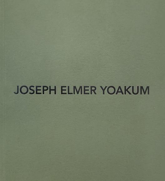 Joseph Elmer Yoakum Book Published by Venus Over Manhattan 2019