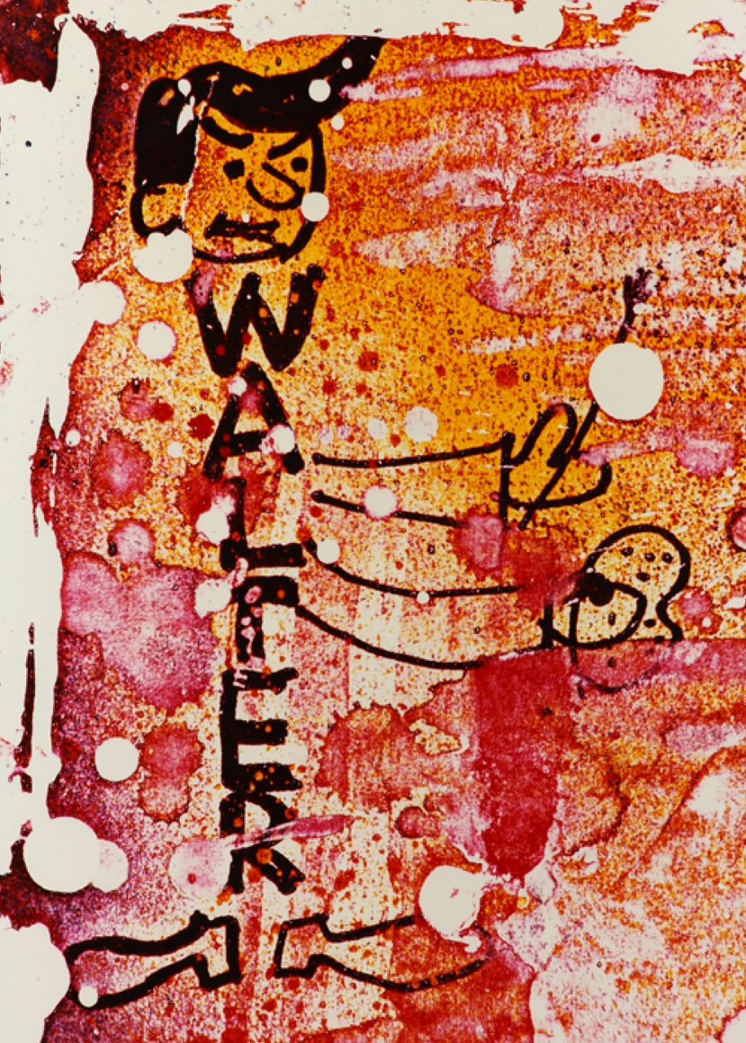 Cover of Walter Dahn My Back Pages/(4th Time Around), published by Venus Over Manhattan, New York 2013