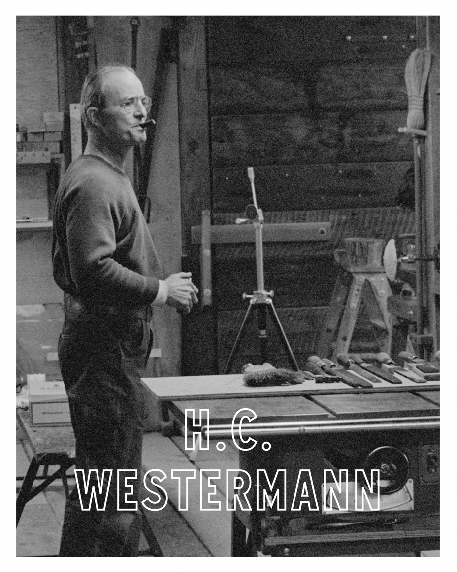 Cover of H.C. Westermann, published by Venus Over Manhattan, New York, 2016