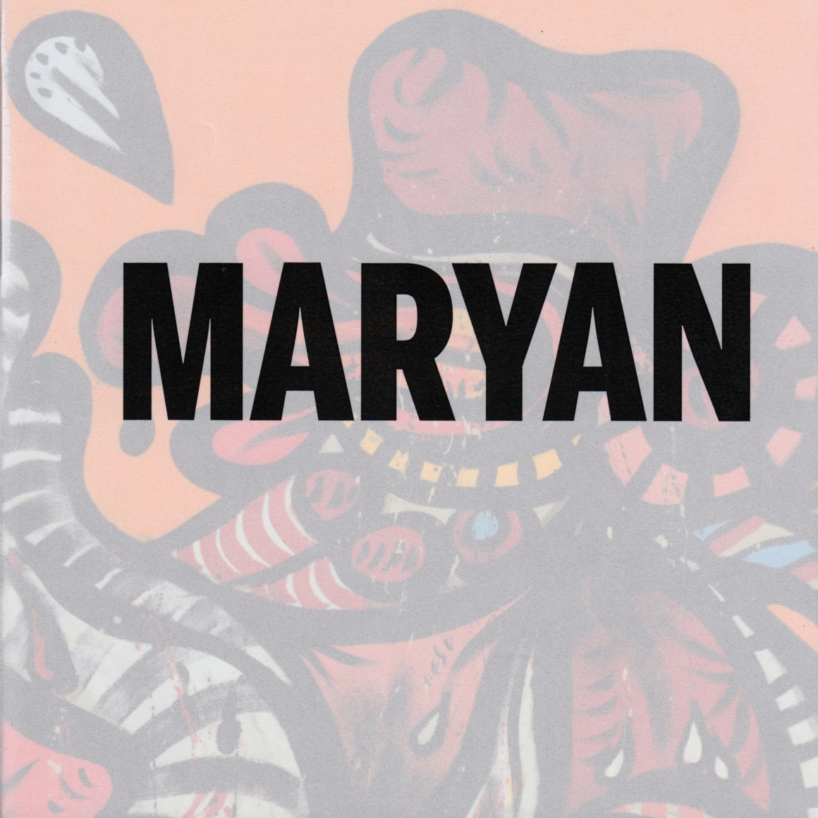 Cover of Maryan, published by Venus Over Manhattan, New York, 2018