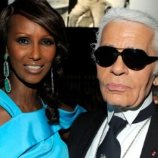 """Karl Lagerfeld! Arianna Huffington! Iman! Here Are The Snaps From The Gordon Parks Award Dinner """