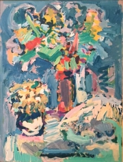 Nell Blaine Still Life with Daisies #1, 1959