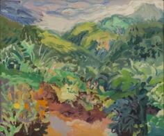 Nell Blaine Garden and Font des Serpents St. Lucia, 1965