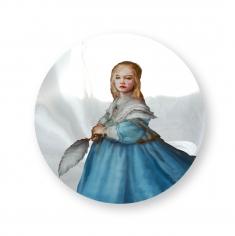 "Martin C. Herbst ""Lena Dressed in Blue"" Galerie LeRoyer"