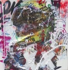 """Stikki Peaches """"Sempre Senna"""" Galerie LeRoyer"""