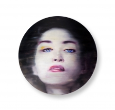 "Martin C. Herbst ""Blue Eyes 1"" Galerie LeRoyer"