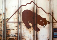 "Tim Conlon ""Blank Canvas #51 - McCloud"" Galerie LeRoyer"